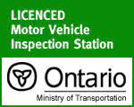 Licenced Motor Vehicle Inspection Station